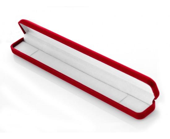 Bileklik İçin Kırmızı Kadife Hediye Kutusu