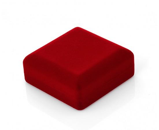 Kırmızı Kadife Sevgiliye Hediye Kutusu