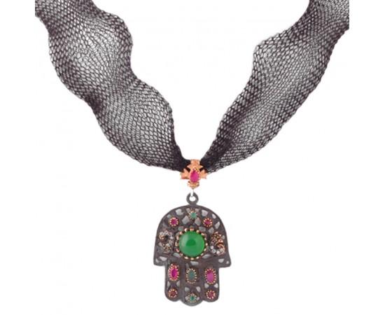 Hz. Fatma'nın Eli Gümüş Kolye