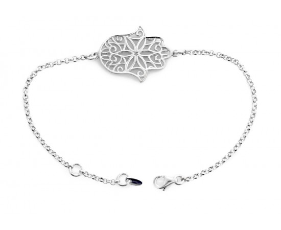 Ajurlu Gümüş Fatma'nın Eli Bileklik