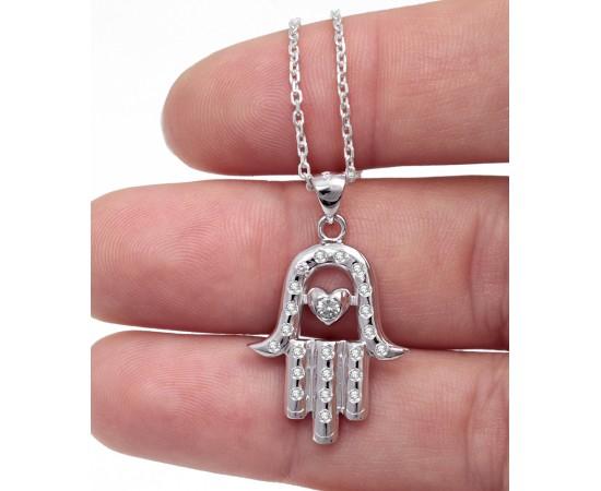 Fatma'nın Eli Gümüş Kolye