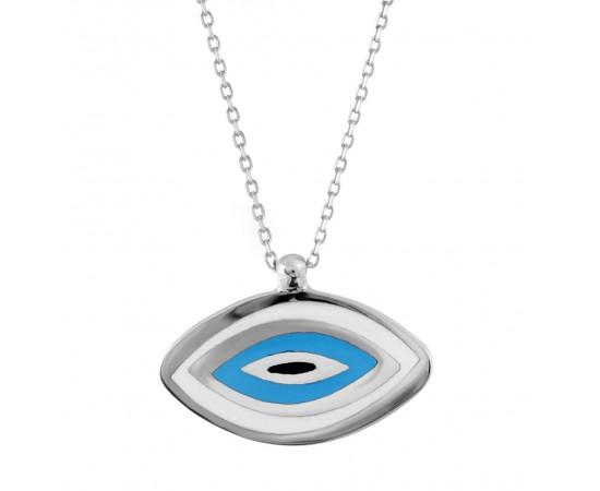 Göz Kolye Gümüş