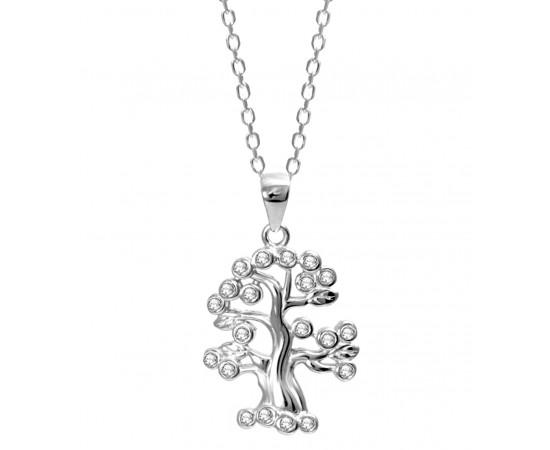 Gümüş Ağaç Kolye