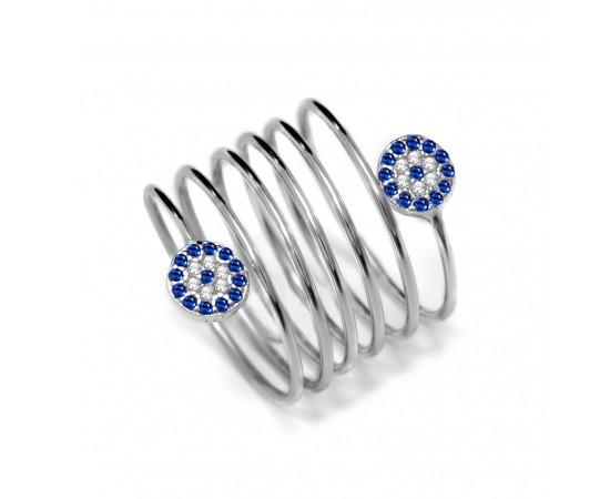 Spiral Gümüş Yüzük