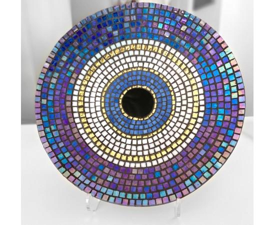 Mozaik Nazar Boncuğu Duvar Süsü